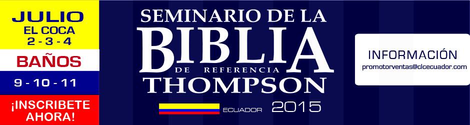 2seminario biblia thompson