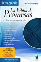 La Biblia de Promesas Piel Azul