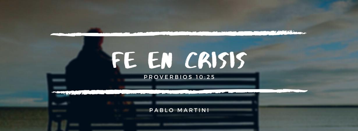Devocional: Fe en Crisis