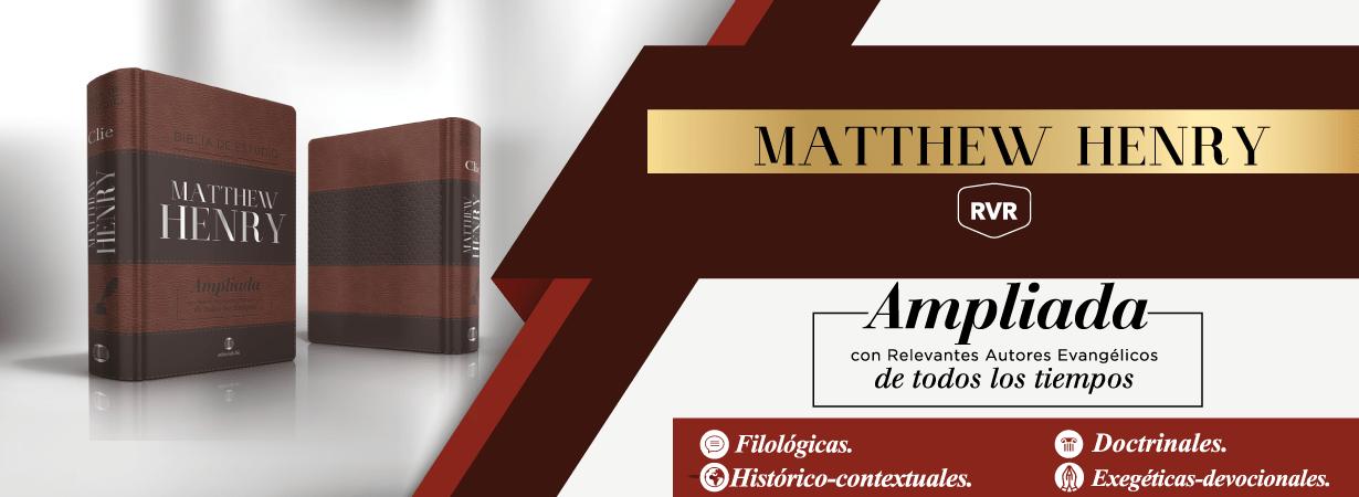 Biblia Matthew Henry