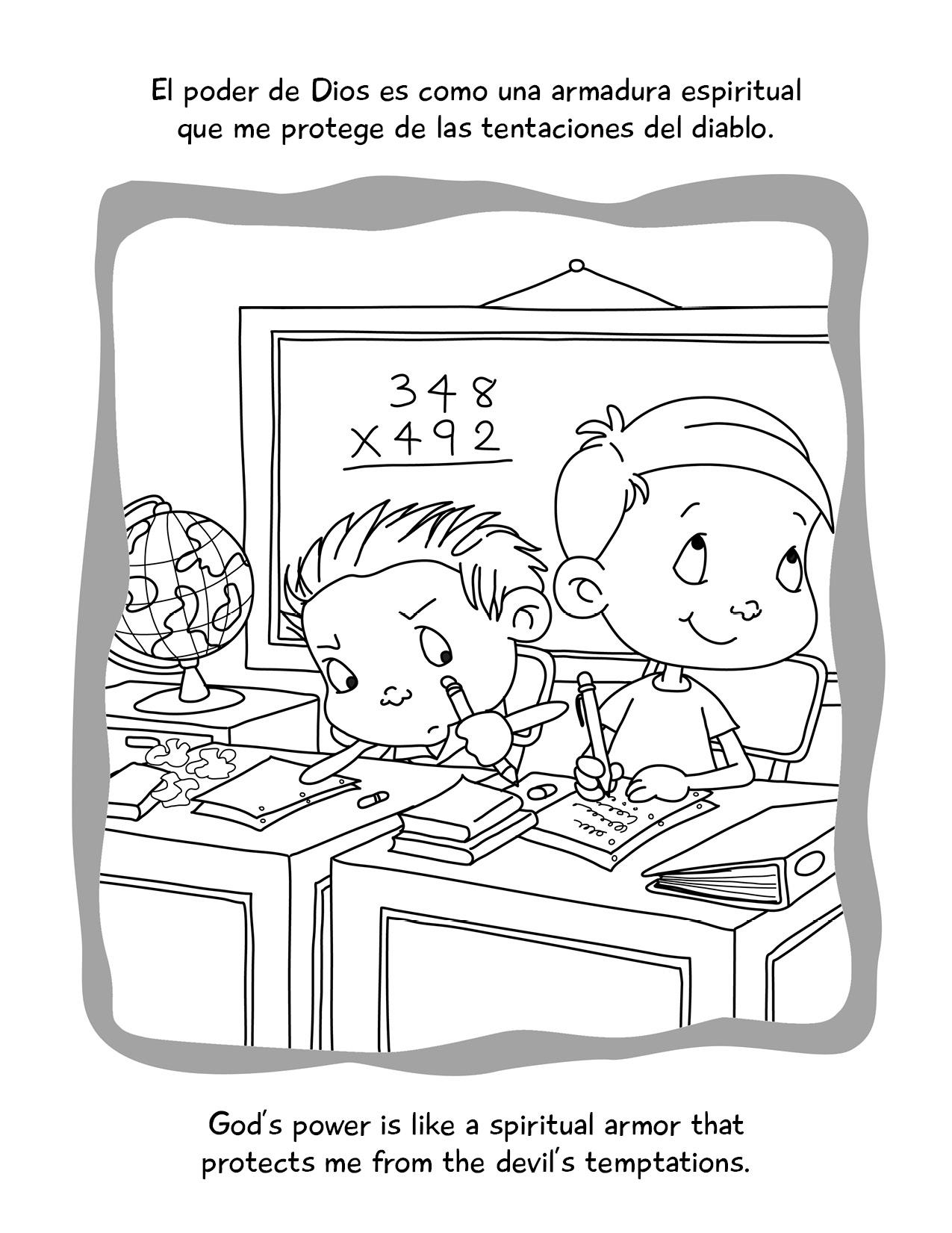 EFESIOS 6 COLOREAR BILINGUE: libro para colorear bilingüe ...