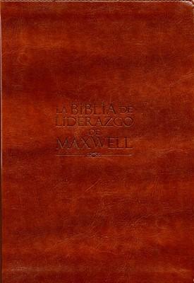 Biblia NVI de Liderazgo de Maxwell (Piel) [Biblia]