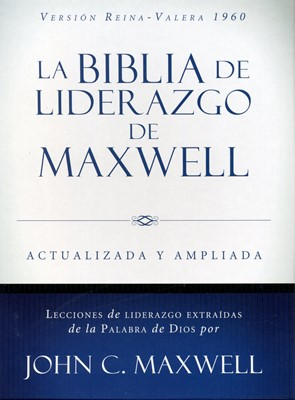 RVR60 Liderazgo de Maxwell (Tapa Dura) [Biblia de Estudio]