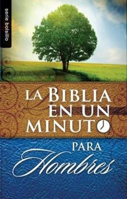 La Biblia en un Minuto Para Hombres (Rústica) [Libro]