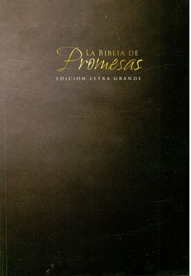 Biblia de Promesas RVR60 Negro (Rústica/Flexible) [Biblia]