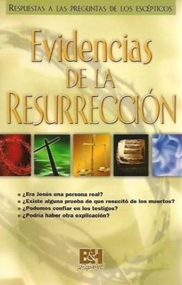 Evidencias de la Resurrección (Rústica) [Folleto]