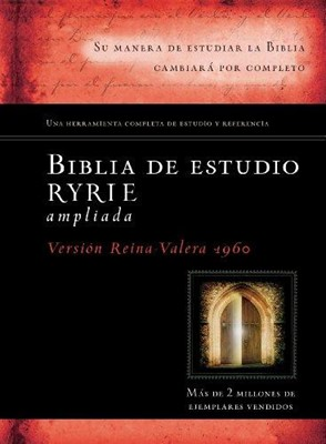 Biblia de estudio Ryrie RVR60 Ampliada (Tapa dura)