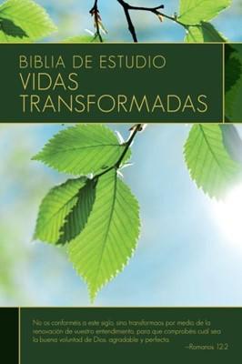 Biblia Vidas Transformadas RVR60 (Tapa Dura)