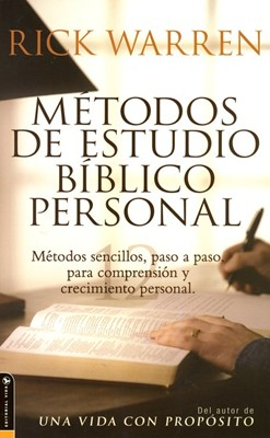 Métodos De Estudio Bíblico Personal (Rustica) [Libro]