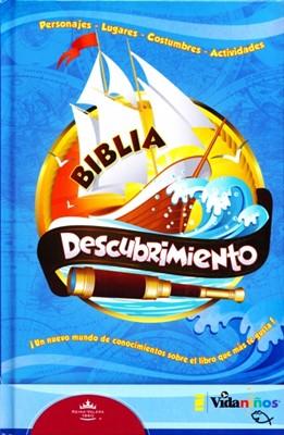 Biblia Descubrimiento RVR60 (Tapa Dura) [Biblia]