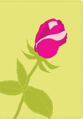 Biblia Ultrafina Compacta Flor Rosa NVI (Imitación Piel) [Biblia]