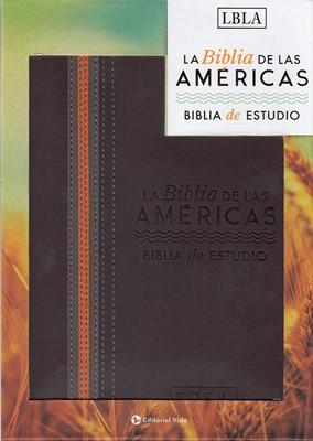 Biblia de las Américas de Estudio Marrón
