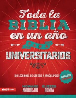 Toda la Biblia en un Año para Universitarios (Rústica) [Libro]