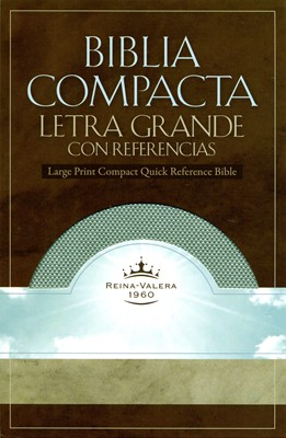 Biblia Compacta Letra Grande (Imitación piel / Esmeralda sutil) [Biblia]