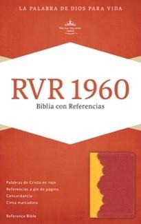 Biblia RVR60 con Referencias (Imitación Piel) [Biblia]