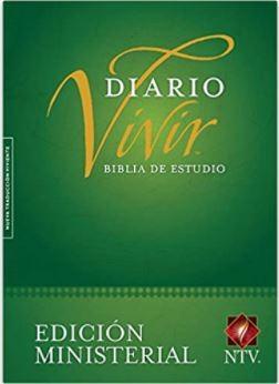 B Diario Vivir NTV (Tapa Dura) [Biblia de Estudio]