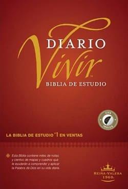 Biblia Diario Vivir RVR60 Nueva Edición Índice (Tapa Dura) [Biblia de Estudio]