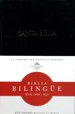 Biblia Bilingüe RVR60/KJV (Tapa Dura) [Biblia]