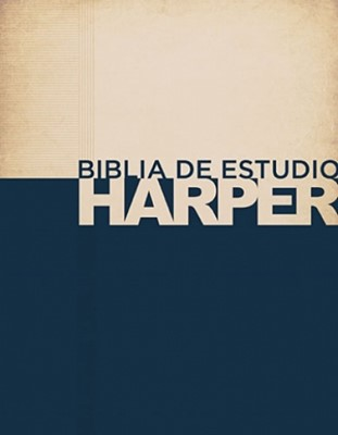 Biblia de estudio Harper (Tapa dura) [Biblia de Estudio]