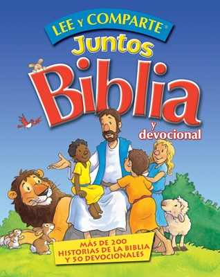 Lee y Comparte Juntos Biblia y Devocional (Tapa dura) [Biblias para Niñ@s]