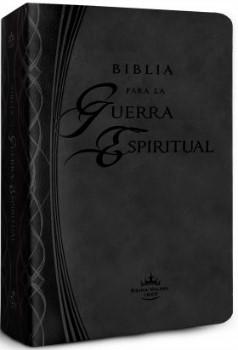 B Guerra Espiritual Piel Negra (Simil piel) [Biblia]