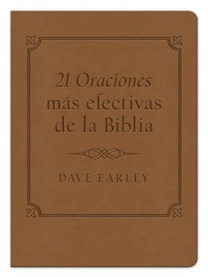 21 Oraciones más Efectivas de la Biblia (Imitación Piel Marrón) [Libro]