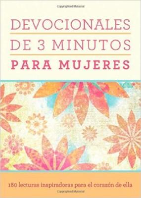 Devocionales De 3 Minutos Para Mujeres (Rústica) [Libro Bolsillo]