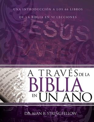A Través de la Biblia En Un Año (Rustica) [Libro]