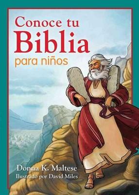 Conoce tu Biblia para Niños (Rústica) [Libro]