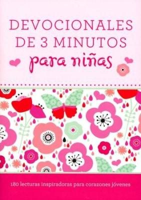 Devocionales De 3 Minutos Para Niñas (Rústica)