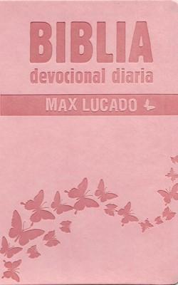 Biblia Devocional Diaria Rosa (Imitación Piel)