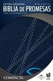 Biblia RVR 1960 de promesa compacta jeans con cierre (Tapa jeans con cierre)