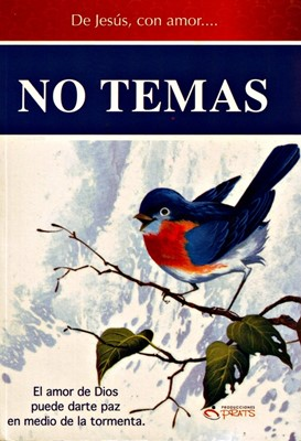 De Jesús con Amor: No Temas (Tapa suave rústica)
