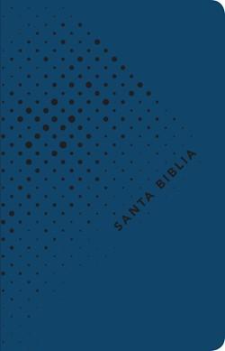 Biblia NTV azul (Tapa simil piel azul)