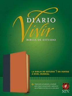 Biblia NTV Diario Vivir Marron