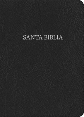 Biblia RVR1960 compacta letra grande (Tapa piel fabricada negro)