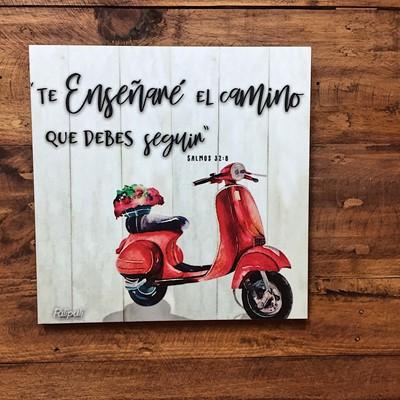 Cuadro Madera 26x26