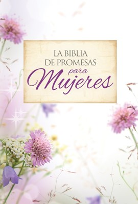 B RVR60 PROMESAS LG FLORAL CIERRE (Tapa piel especial floral con cierre) [Biblia]