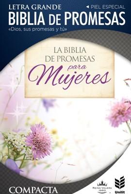Biblia de Promesas Floral Compacta RVR60 (Imitación Piel) [Biblia]