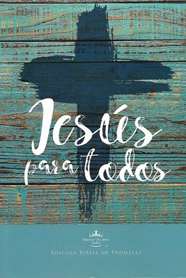 Biblia RVR1960 promesas Jesús para todos (Tapa rústica suave)