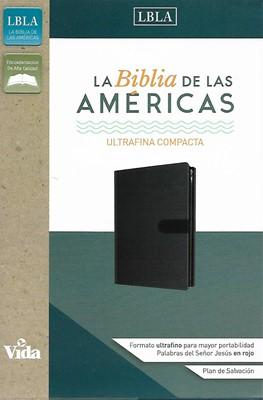Biblia de las Américas- Ultrafina compacta con cierre