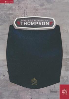 RVR60 Biblia de Referencia Thompson (Imitación Piel Negro)