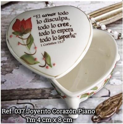 COFRESITO PIANO REF.037 (cerámica) [Misceláneos]