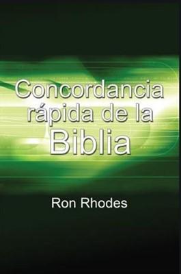 Concordancia rápida de la BIblia (Rústica) [Libro]