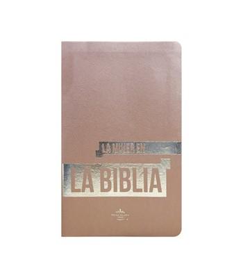 Biblia de Estudio Rosa (Imitación Piel Rosa) [Biblia]