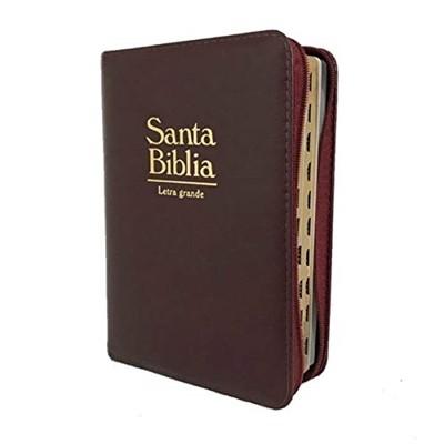 Biblia de Bolsillo RVR60 Vino Acolchada (Simil piel) [Biblia]