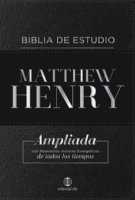 RVR Matthew Henry (Piel Genuina) [Biblia de Estudio]