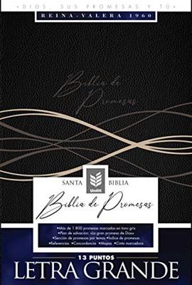 Biblia de Promesas RVR60 Letra Grande (Imitación Piel) [Biblia]