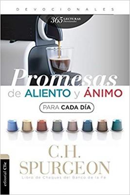 Promesas de Aliento y Ánimo para Cada día (Rustica Blanda)