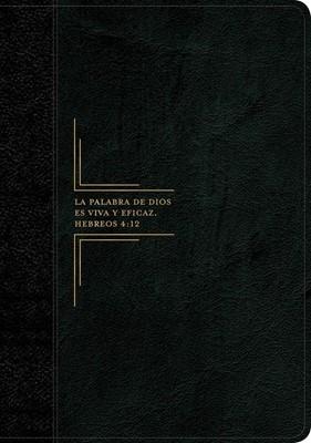 Biblia de estudio del diario vivir RVR60, letra grande (Flexible Imitacion Piel Negro-Onice) [Biblia de Estudio]